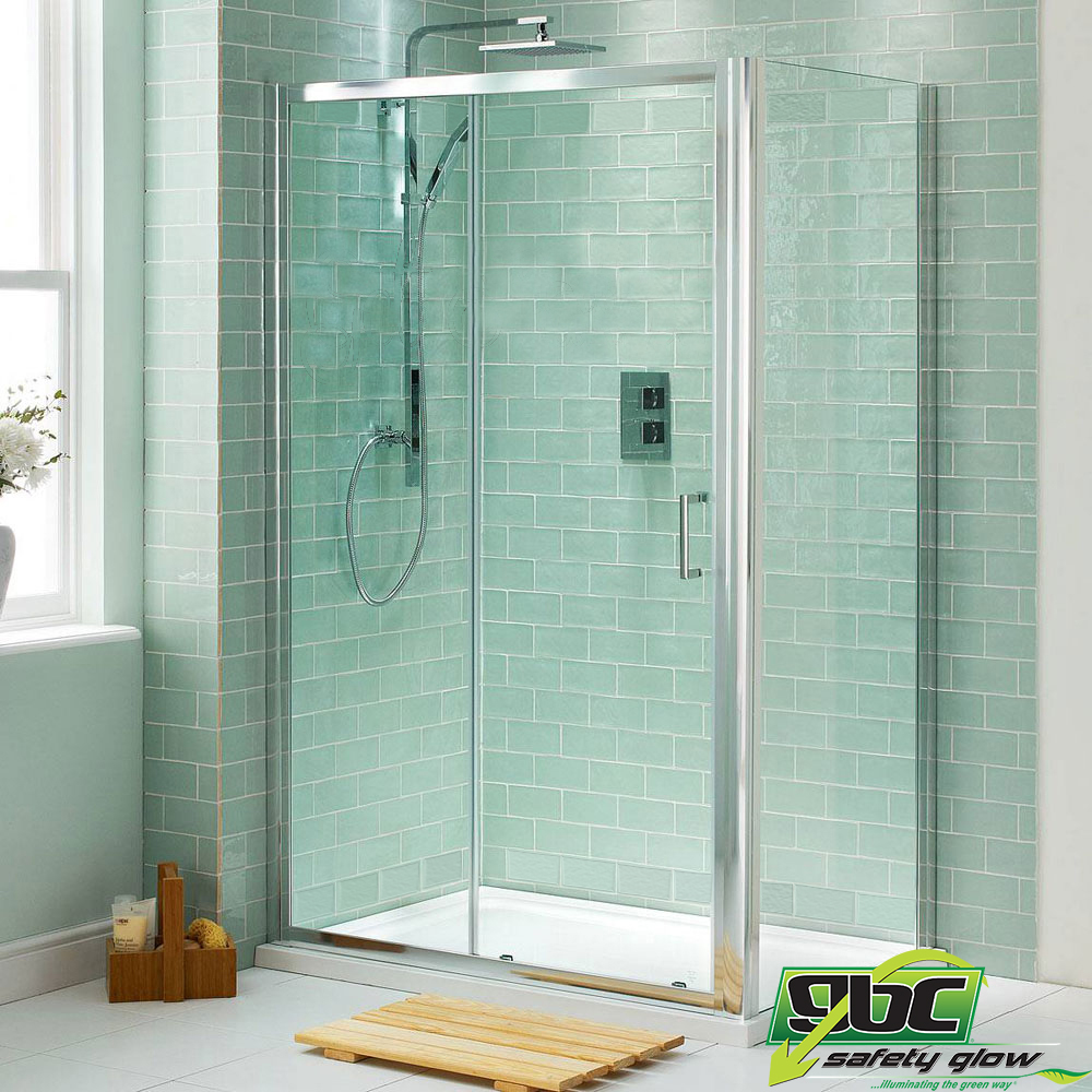 Glass Tiles In Bathroom: Joe Glow Glass Showroom