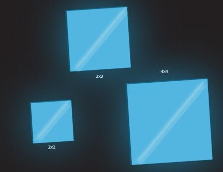 Glass Tiles In Dark NW
