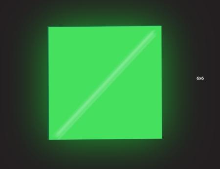 Dark 6x6 Green