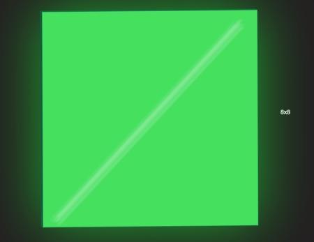 Dark 8x8 Green
